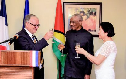 Guyana to intensify cooperation with France on environmental protection