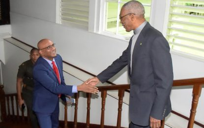 President Granger, Opposition Leader meet on Public Service Commission, Police Service Commissions