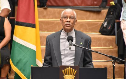 NTC is not a political party; it must take the lead in driving Amerindian development  -President Granger