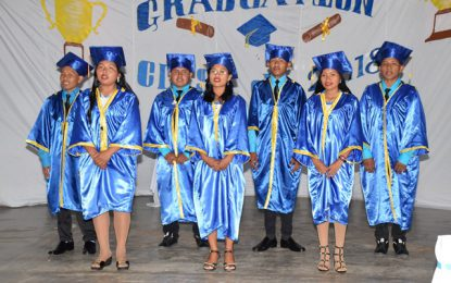 'The Govt is behind you'- Min. Allicock assures Bina Hill graduates
