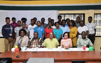 First Lady opens ICT Workshop for Region Three youths
