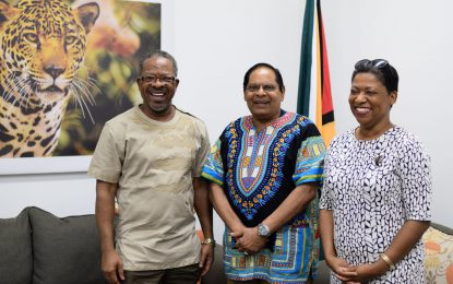 PM Nagamootoo pledges support for Constitutional Education Project