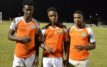 Second leg of the Guyana Football Federation kicks off