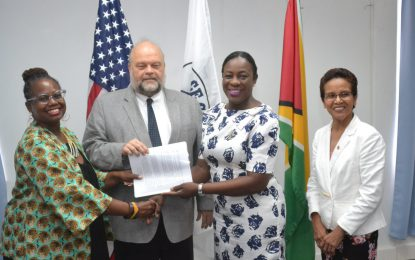Ministry of Education and Peace Corps Guyana MOU Signed!