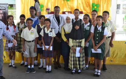 C.I.O.G honours Top 15 performing NGSA students