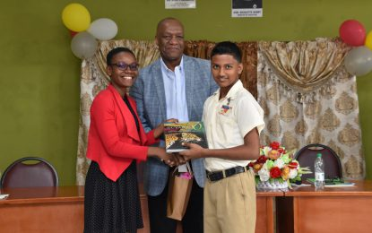 'Government's investment in education is paying dividends'– Minister Harmon at Region 3's NGSA appreciation ceremony