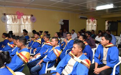Training for health workers continues in the hinterland─ workers trained specifically in area of maternal and child health care