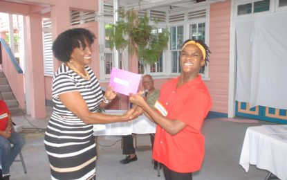Ptolemy Reid hosts spelling competition