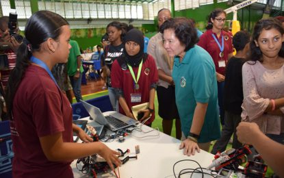 Young innovators on display at 2nd Robots and Technology Exhibition