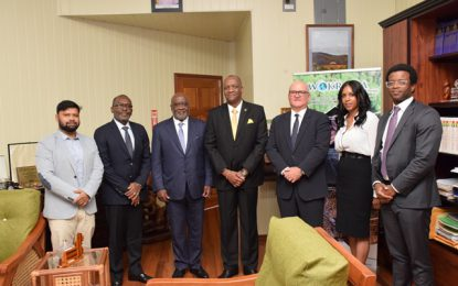 State Minister welcomesGhanaianoil investors to Guyana