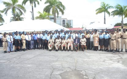GPF Ranks recognised for their crime-fighting efforts
