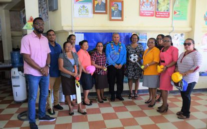 Region Seven schools benefit from donation of sport gear
