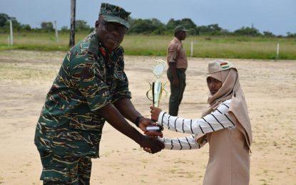 12-year-old named 'Best Camper' at GDF Cadet Camp