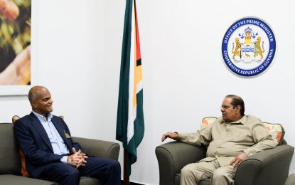 Relations between Guyana and India to be further strengthened