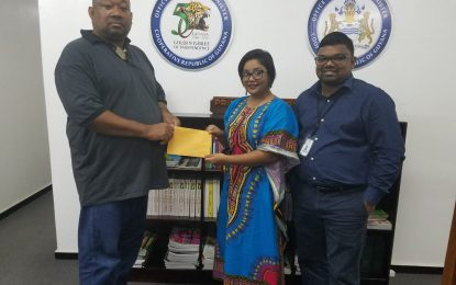 OPM donates to Rose Hall Town Youth and Sports Club