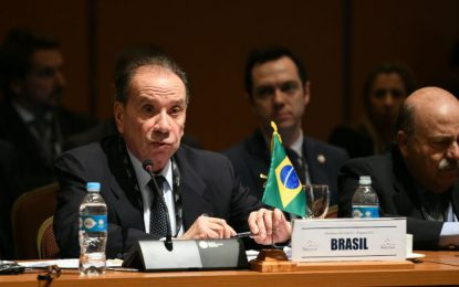 Brazilian Foreign Minister to Meet with President