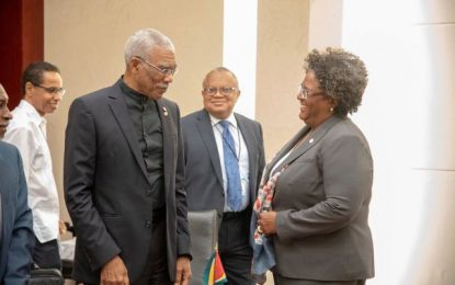 Guyana and Barbados agree to strengthen bilateral relations
