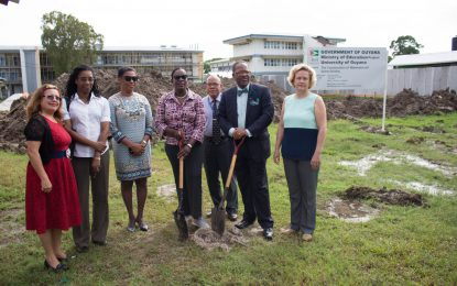$66Million Maths and Science building for University of Guyana