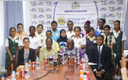 Education Ministry and Ansa McAl honour top NGSA students