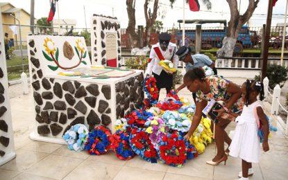 Police honour fallen comrades