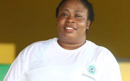 Proud women among Guyanese working on Noble Bob Douglas