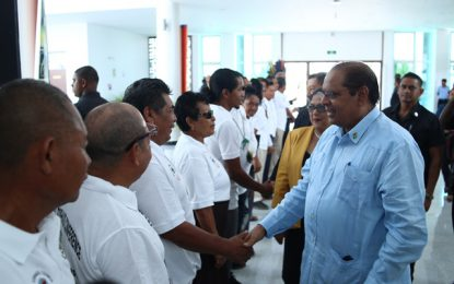 """The issue to Land Titling is a continuous and collaborative process"""" – PM Nagamootoo"""