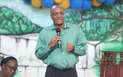 Govt continuing to address public infrastructure – Minister Harmon