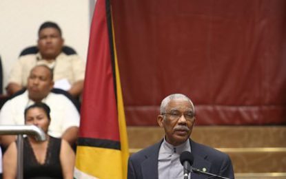 President calls on Toshaos Council to plan, cooperate and collaborate to develop communities
