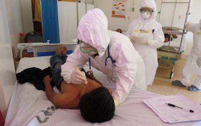 HEOC displays Health Multi-Hazard Emergency Plan in Lethem