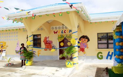 Diamond No.2 Nursery School Commissioned  – to accommodate growing number of nursery aged children in the community