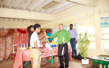 Minister of Social Cohesion echoes the importance of sports in schools