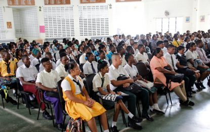 Work-study students urged to embrace good work-ethics