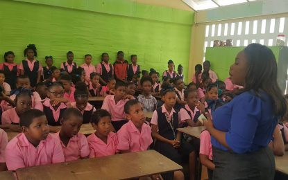 Grade six Linden students sensitised on local governance