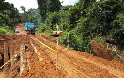 Push to repair Mile 33 Mabura Bridge