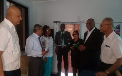 Minister Harmon pledges $500,000, personal support to Beacon Foundation