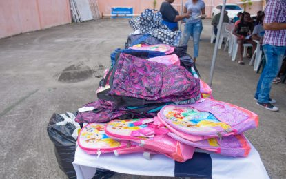 Tiger Bay children benefit from back-to-school initiative