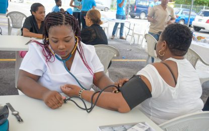 UG Health Fair – A platform for future health professionals to be familiar with their community