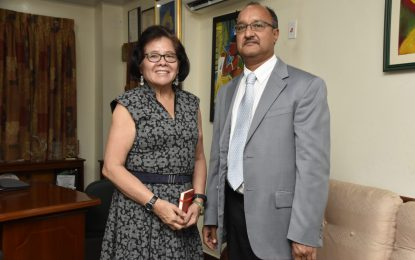 First Lady meets with PANCAP Consultant