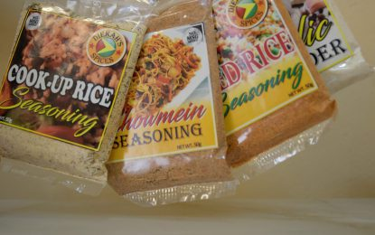 Small business in focus…Local spice business adding zest to Guyanese kitchens