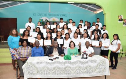 Thirty-six Lethem youths certified by BIT