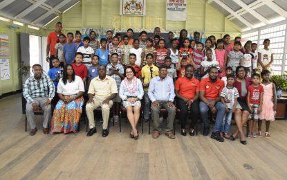50 Bath Settlement students complete First Lady's Robotics Camp