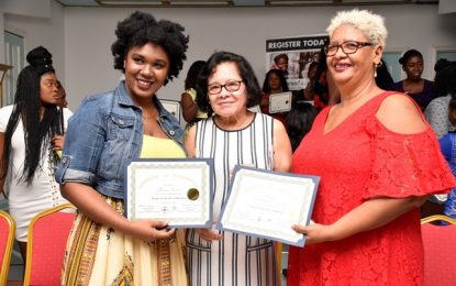 Georgetown women eager to take on the business environment  -after completing First Lady's Success in Business programme