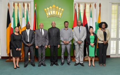 """""""My Government will spare no effort to expose the intellectual authors and the perpetrators""""-President Granger"""