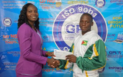 GPL sponsors local swimmer for Goodwill Swim Meet