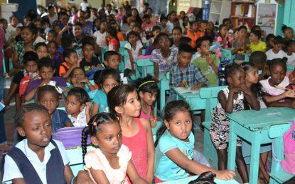 Belle West children complete literacy camp