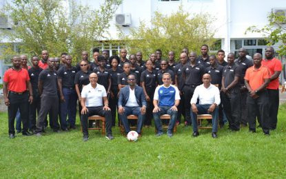 Football Federation kicks off assistance referees training