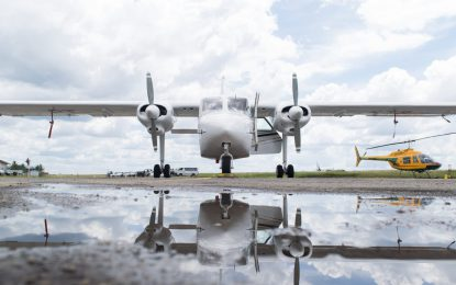 GDF strengthens aviation support with Islanders