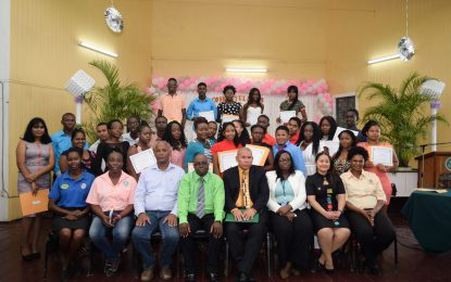 'Become your own boss' – Min. Norton urges new agro-processing graduates
