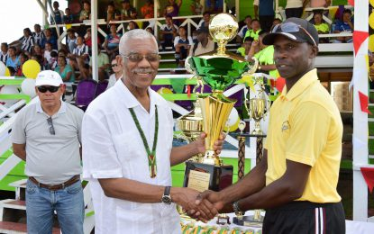 President Granger lauds Upper Mazaruni District Games