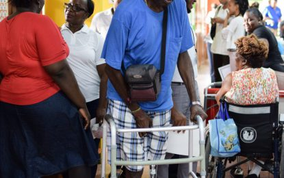 """""""Persons with disabilities can shape their own future"""" – Min. Lawrence"""